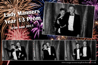 Lady Manners Year 13 Prom 25th June 2015