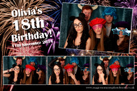 Olivia's 18th birthday - 8th November 2014