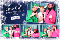 One Call Christmas Party 2015